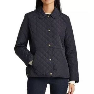 Lauren Ralph Lauren Snap Button Quilted Jacket